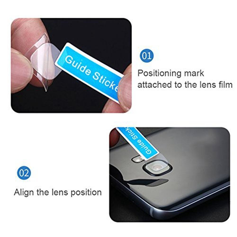 Samsung S9 Back Camera Lens Protector, PRODELI HD Clear Ultra Thin Protective Film Tempered Glass Cover Guard (2 Pack)
