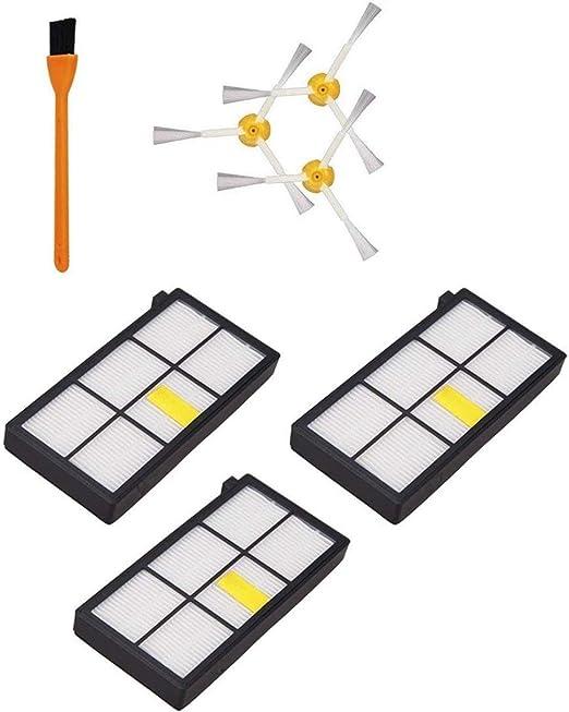 Gaoominy 3 Piezas 980 Hepa Filtros Compatible para Roomba 980 860 ...