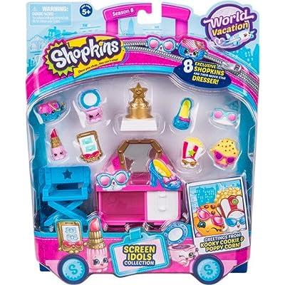 Shopkins Season 8 America Themed Pack Hollywood: Shopkins: Toys & Games