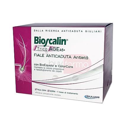 bioscalin tricoage 45 + Mujer – 10 Ampollas Anticaída – 1 mes de Tratamiento