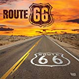 Route 66 2021 12 x 12 Inch Monthly Square Wall Calendar, USA United States of America Scenic Rural
