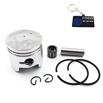stoneder 40 mm pistón 10 mm Pin para motor de 2 tiempos 47 cc chino bolsillo Dirt Bike Mini Quad niños ATV Minimoto 4 Wheeler bebé Crosser: Amazon.es: Coche ...