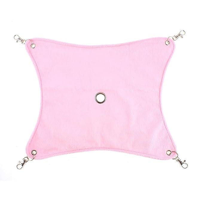 Amazon.com: eDealMax Perro mascota cama colgante 35cm x 28cm amortiguador de la hamaca rosa 2pcs: Pet Supplies