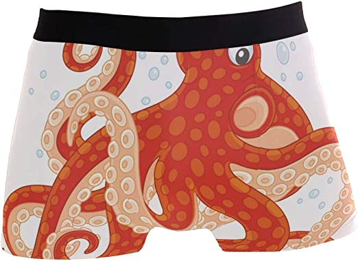 Youlehe Mens Underwear Soft Bamboo Boxer Briefs Stretch Trunks Breathable Lightweight Short Leg