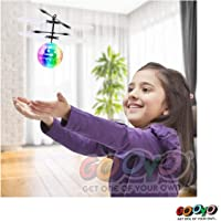 Gooyo Magical Hand Controlled Sensor Electronic RC Induction Flying Helicopter Aeroplane Ball with Flashing LED Lights USB Charger Toys for Kids|Boys|Girls