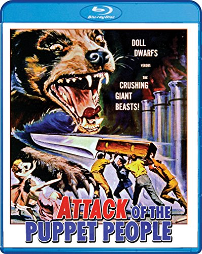 Mens Puppet - Attack Of The Puppet People [Blu-ray]