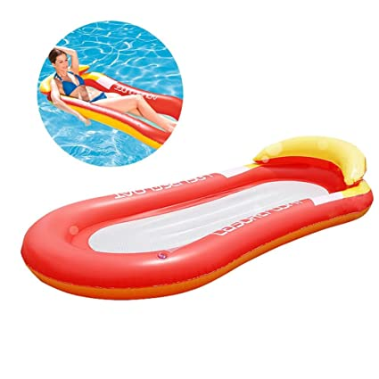 Chengstore - Flotador Hinchable para Piscina, diseño de Malla para Piscina, Piscina, Acuario