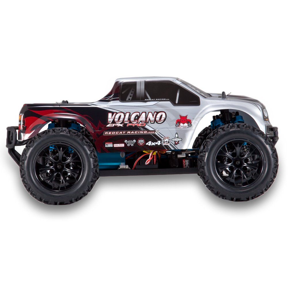 Volcano EPX Pro 1/10 Scale Brushless Truck Silver by Redcat Racing (Image #5)