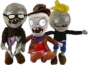 Maikerry Zombie Dolls-(Set of 3) Zombie Toys Halloween Decoration Zombie Plush Doll (30cm)