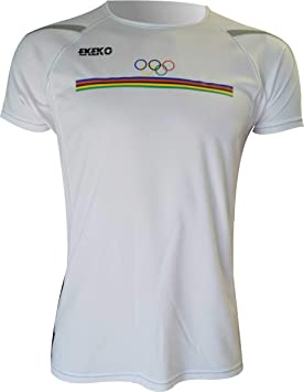 Ekeko OLIMPICA, Camiseta Hombre Manga Corta, para Running ...