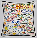 Hawaii State Pillow by Catstudio