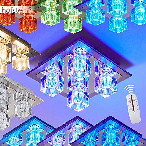 LED Deckenleuchte mit Farbwechsler und Fernbedienung: Amazon.de ...