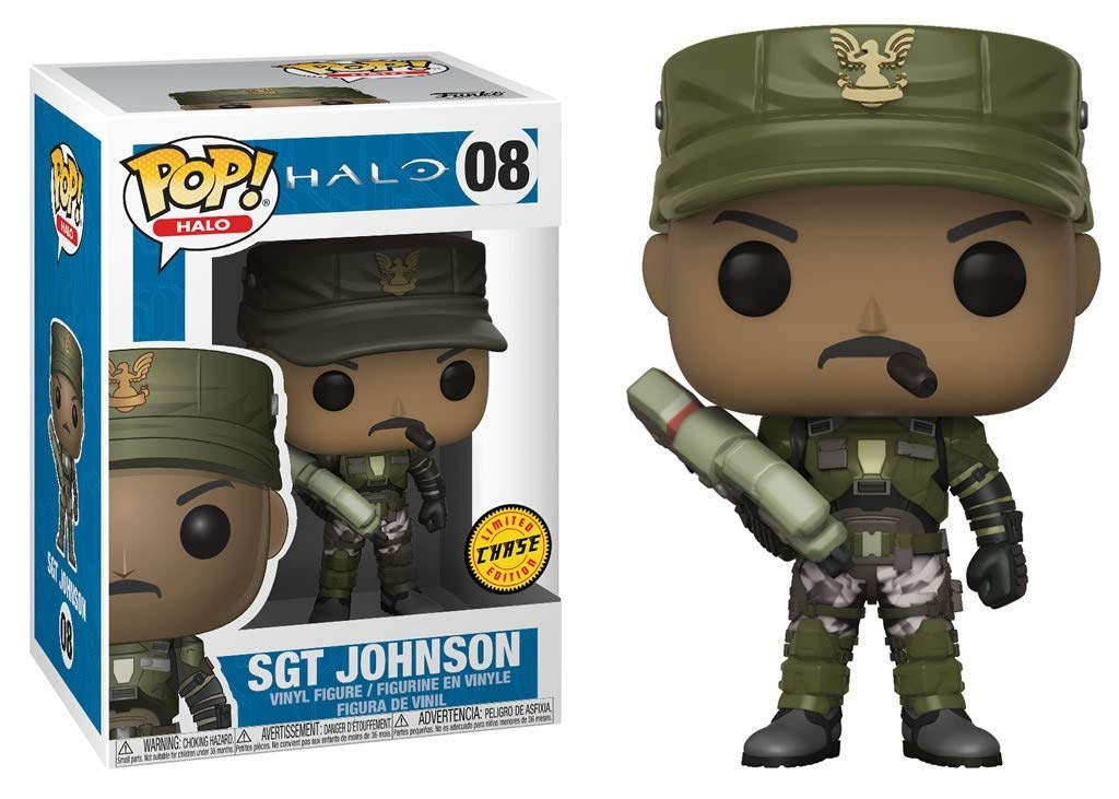 Funko - Pop 08 - Funko SGT. Johnson Chase - Halo 78e9d7