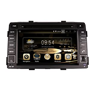 "Effort KIA GPS Navigation Android 8.0 Car Stereo CD DVD Player in Dash Radio with 7"" LCD Bluetooth Multimedia System for KIA Sorento 2010-2012 Support Audio&Video Format/Wifi/3G/Rear View Camera"