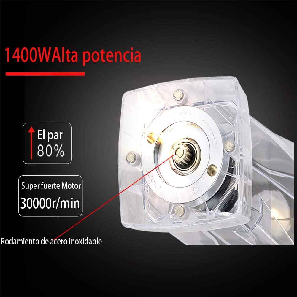 shkax Batidora Licuadora de Vaso Profesional 1400W 2L Jarra sin ...