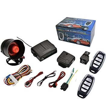TrAdE shop Traesio® - Kit Alarma antirrobo Universal Coche ...
