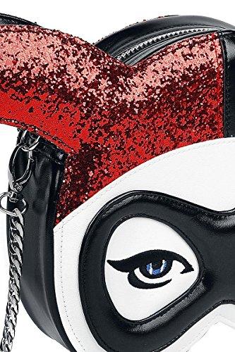 Borsetta Multicolore Dc Harley Quinn Menace Comics multicolore Masked U665awq