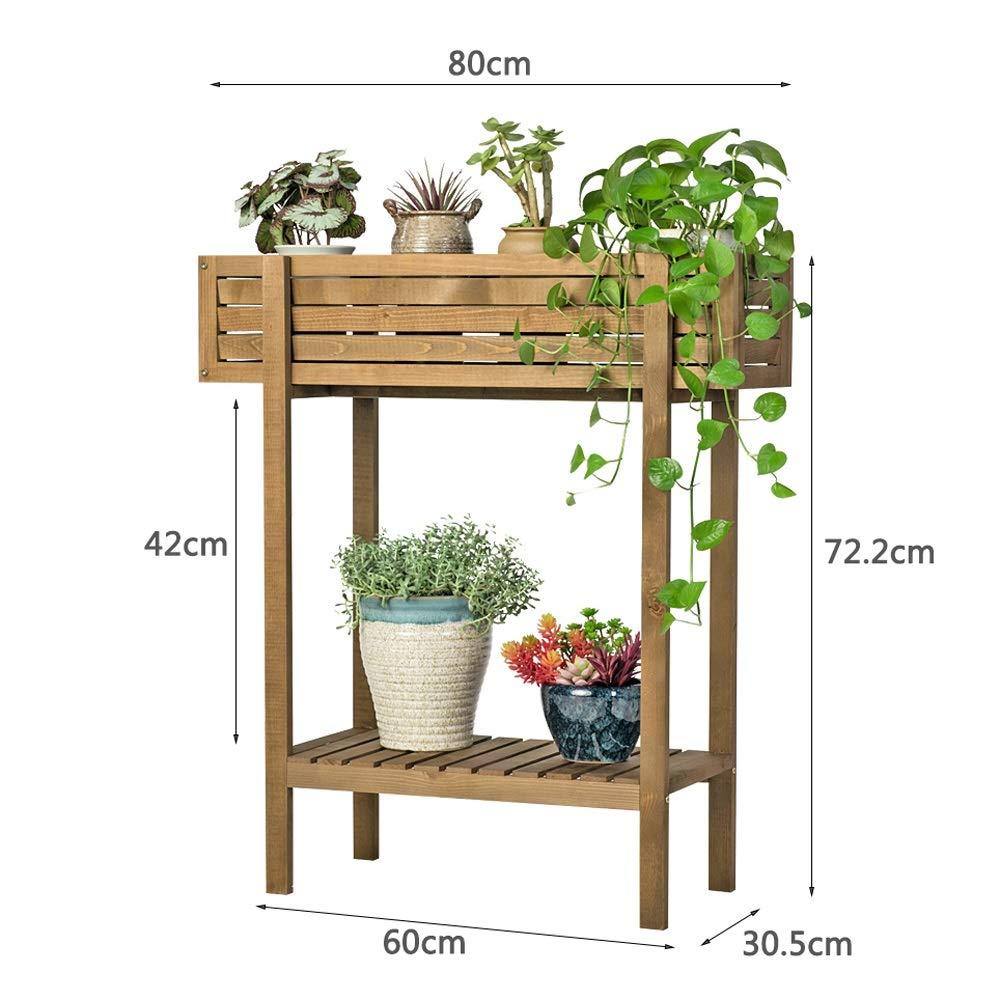 Amazon.com: Soporte para plantas, soporte para balcón de ...