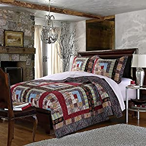 Greenland Home 2 Piece Colorado Lodge Quilt Set from Greenland Home