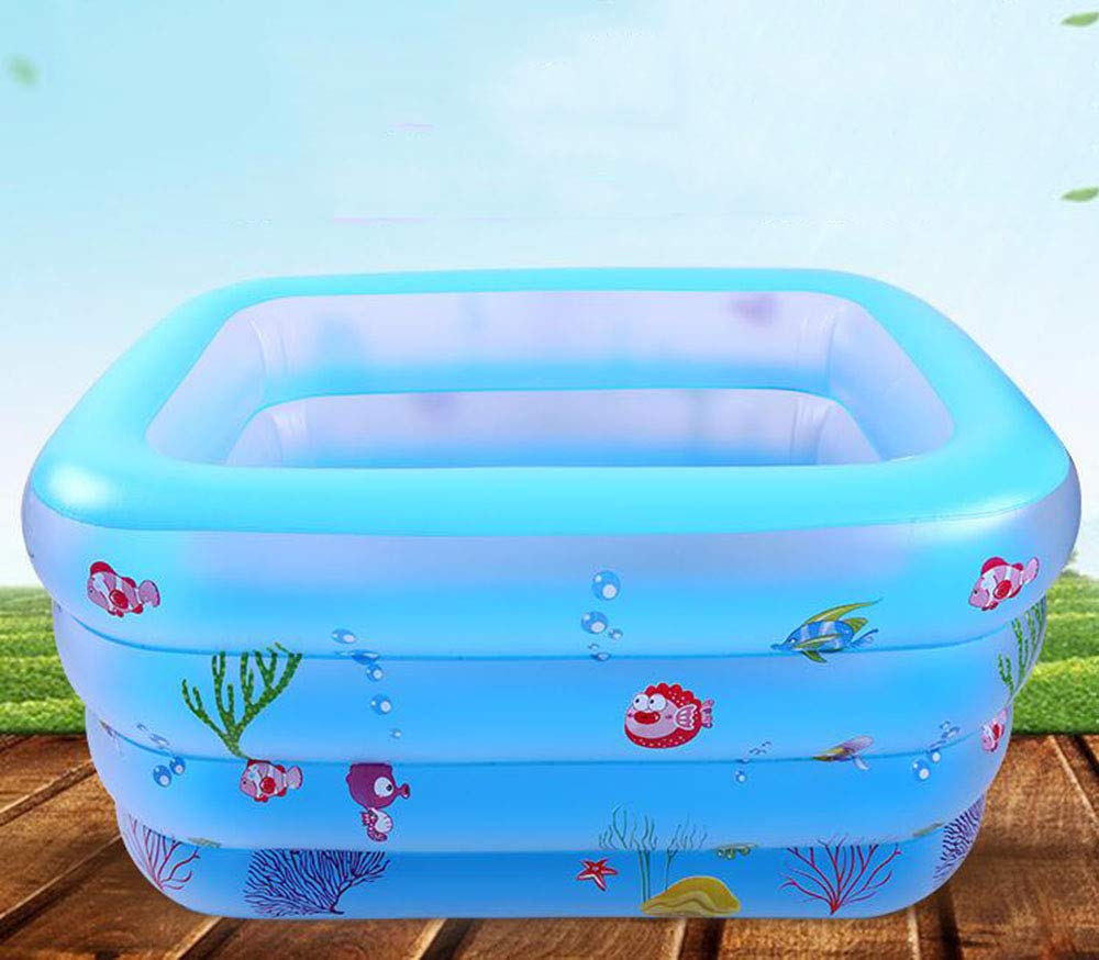 EsOfficce Baby Pool Float Water Fun Party Tube Raft for Kids,35.3inch for Kids 3-6 Year Ride-on Swimming Ring Pool Floats Peacock Swim Ring