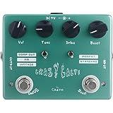 """fitTek® Caline CP-20 Overdrive Guitar Effect Pedal """"Crazy Cacti"""" Aluminum Alloy Housing True Bypass"""