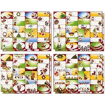 amazon com christmas gift tags embelished foil finish holiday