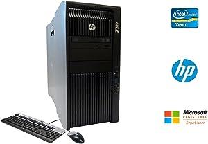 HP Z820 Workstation Intel Xeon 16 Core 2.6GHz 128GB RAM 500GB Solid State Drive + 2TB Hard Drive Dual NVIDIA Quadro FX 3800 Graphics CD/DVDRW Windows 10 Pro 64-bit