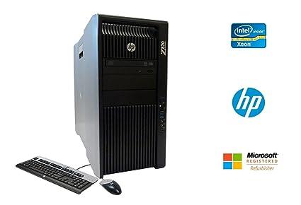 HP Z820 Workstation Intel Xeon 16 Core 2 6GHz 128GB RAM 500GB Solid State  Drive + 2TB Hard Drive Dual NVIDIA Quadro FX 3800 Graphics CD/DVDRW Windows