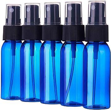 24 botellas de spray de 30 ml subdivisi/ón rellenable sin BPA pl/ástico cosm/ético