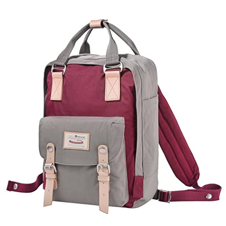 dcd939e0bc6e Image Unavailable. Image not available for. Color  Himawari Backpack Waterproof  Backpack 14.9 quot  College Vintage Travel Bag ...
