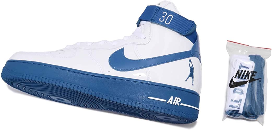 White Blue Nike Air Force High One Hi Rude Awakening AQ4229 100 Top Deals