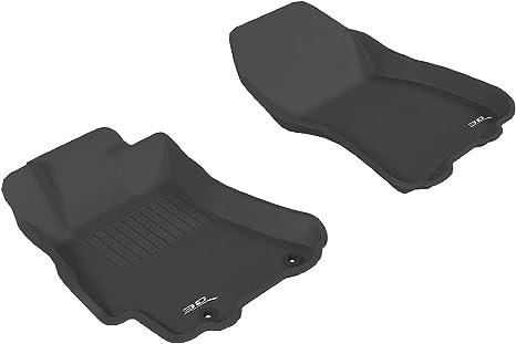 Gray 3D MAXpider Front Row Custom Fit Floor Mat for Select Subaru Forester Models Classic Carpet