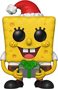 Funko Pop Animation: Spongebob Squarepants - Holiday Spongebob Collectible Figure, Multicolor