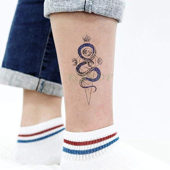 Handaxian 3 piezasPegatina de Tatuaje a Prueba de Agua Body Fox ...