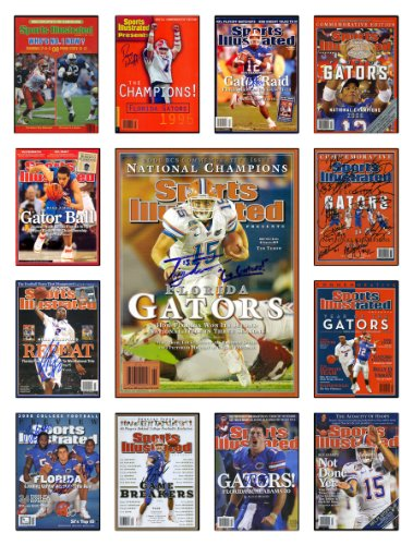 Florida Gators Sports Illustrated Cover Collection Poster