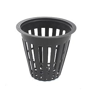 Zicome Garden Plastic Net Cups Pots, 2 inch, Set of 40