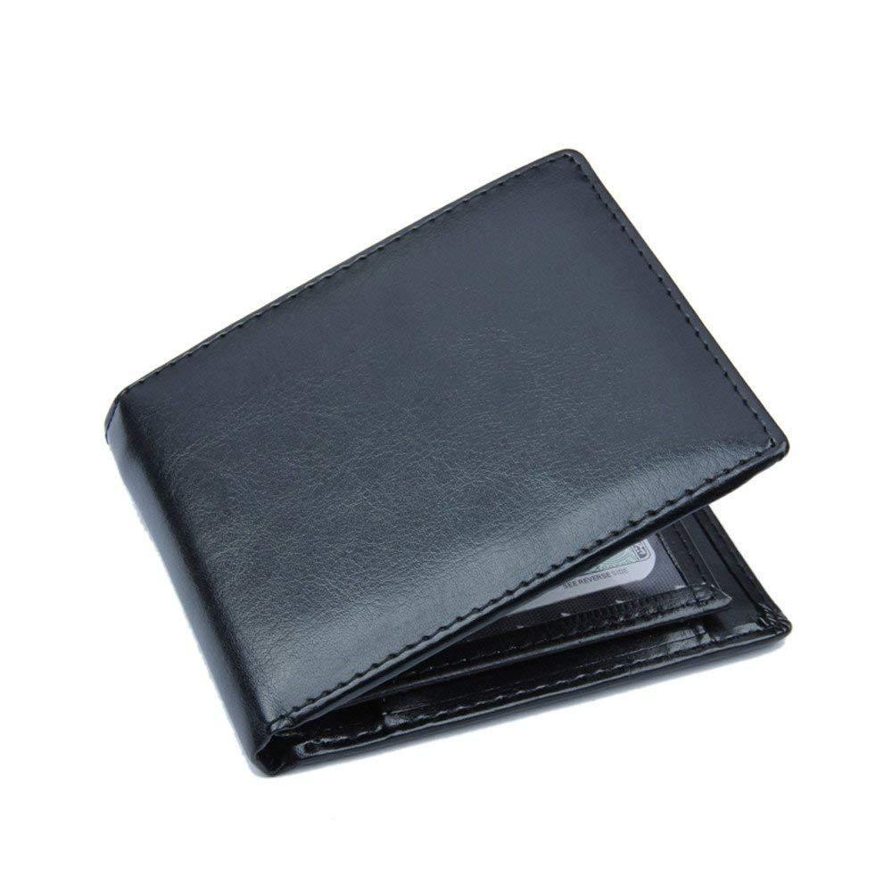 Mens Wallet Banknote Credit Card Holder Minimalist Slim ID Window Bifold Coin Purse Pocket Bag Designer Sale