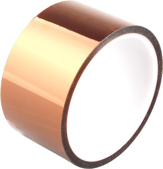 HALJIA 50mm*30m alta temperatura de calor de poliimida resistente ...
