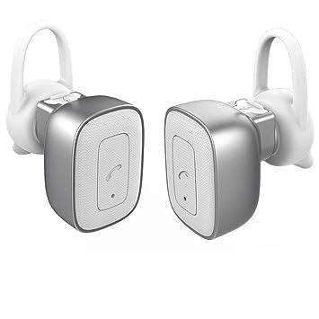 allimity True Auriculares inalámbricos Auriculares inalámbricos estéreo Bluetooth Auriculares con cancelación de ruido auriculares con micrófono para iPhone ...