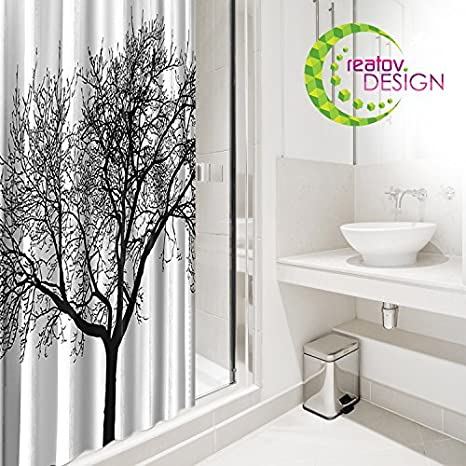 Swell Tree Shower Curtain Mildew Resistant 72X72 Tree Design Decor Waterproof Odorless Eco Friendly Anti Bacterial Bath Curtains Liner Decorative Fabric Download Free Architecture Designs Griteanizatbritishbridgeorg