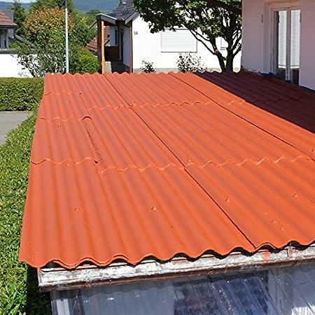 Top Dachsanierung, Dachbeschichtung zum Abdichten von Eternit-Platten FL17