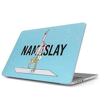 Glitbit Funda para MacBook Air 13 3 Pulgadas, Modelo: A1466 / A1369 NAMA Slay Yoga Namaste Workout Inhale Exhale Breathe Workout Fit Motivation ...