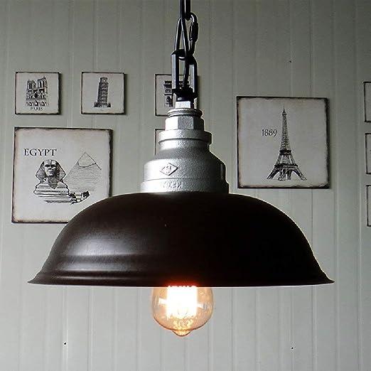 Cafetería Sala de billar Hierro Olla de metal Lámpara Lámpara de ...
