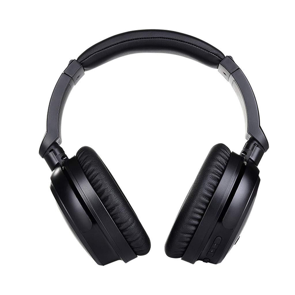 Sunward Bluetooth ワイヤレス ヘッドホン ヘッドセット ノイズキャンセリング ステレオ サウンド オーバーイヤー ステレオ ヘッドセット SD/TFカード対応 旅行用 携帯電話 サムスン PC/携帯電話用   B07NX48MC6