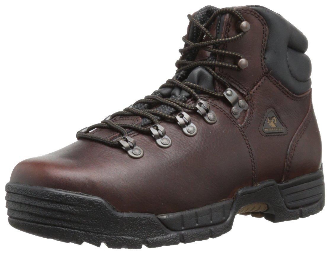 Rocky Men's Mobilite Six Inch Steel Toe Work Boot,Brown,10 M US