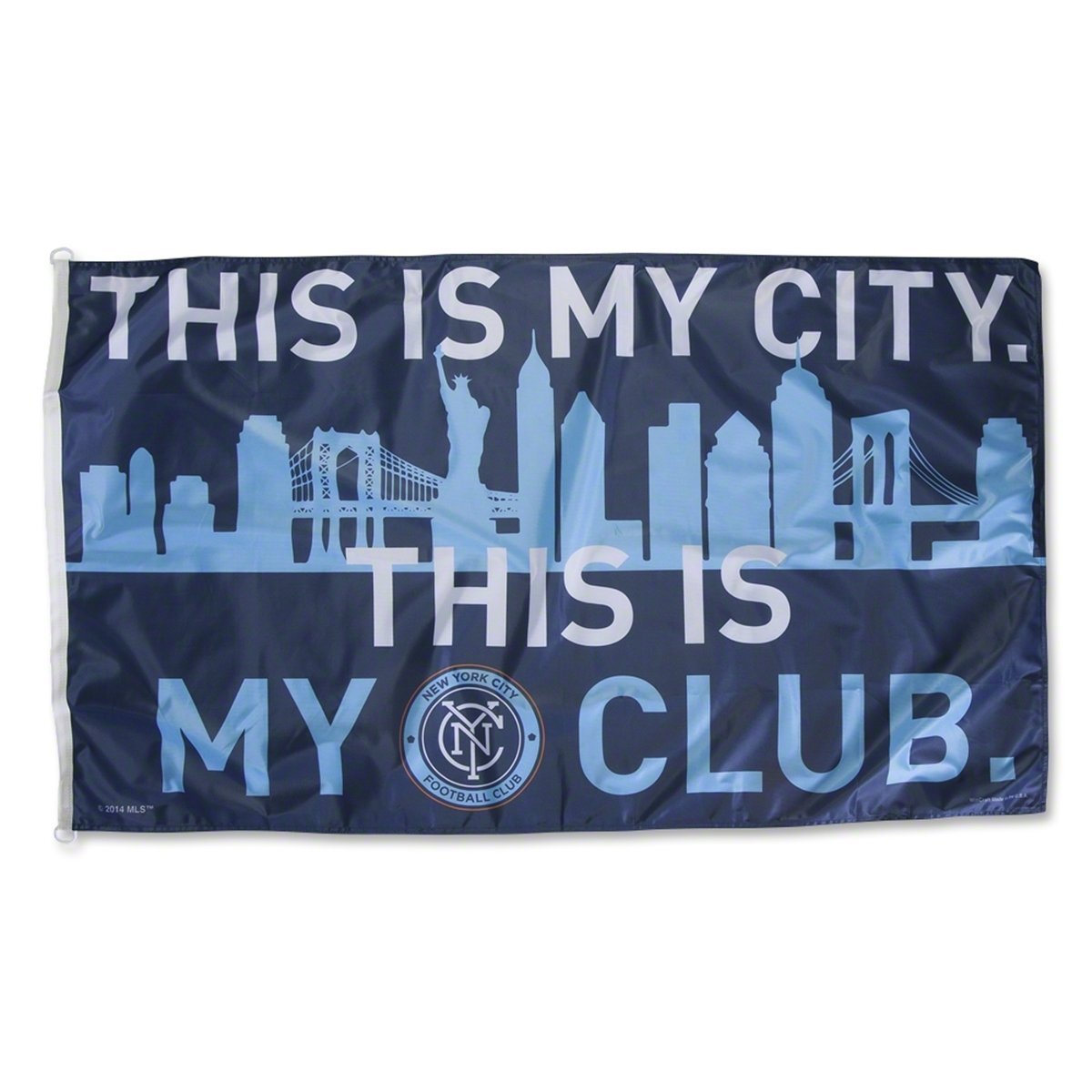 WinCraft MLS New York City FC 3x5 Flag Team Color One Size