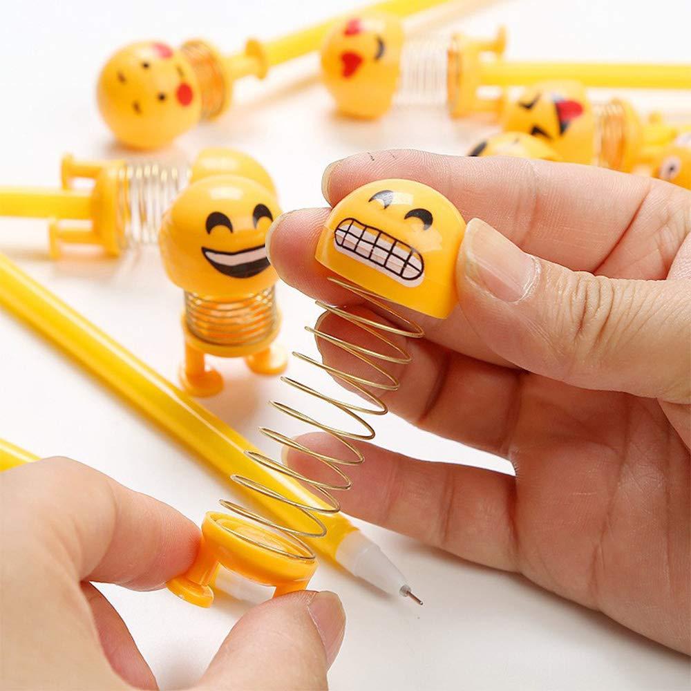 30pz Penne Emoji Penna a Sfera Bambini Divertenti Gadget Regalni Dopo Fine Festa Compleanno Comunione Natale Scuola