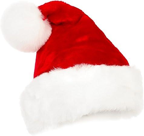 Noël Déguisements # Père Noël Santa Chapeau Fourrure