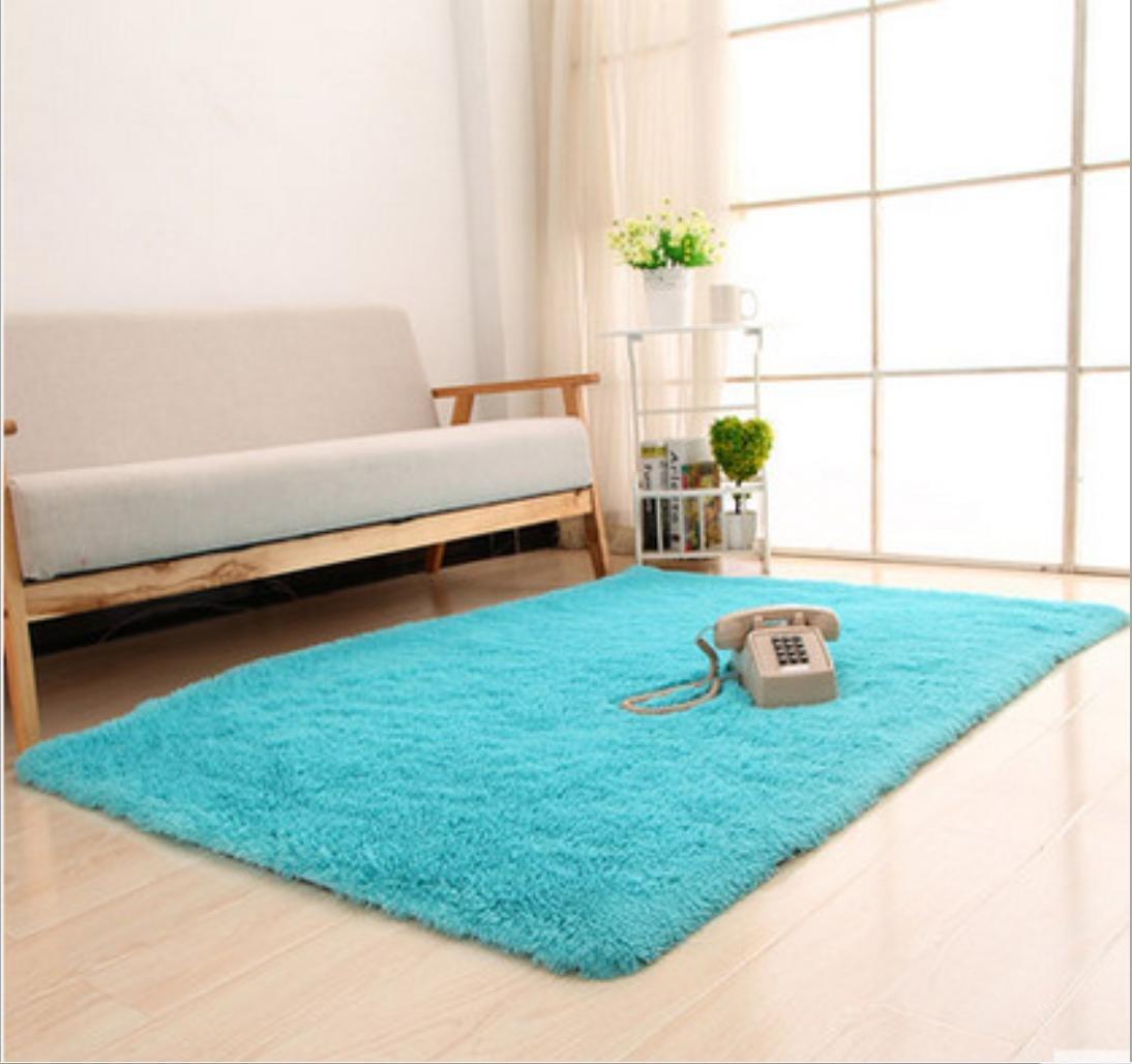 Waschbar Super Soft Silky Haar Teppich Nachttisch Piaoya Tür Matten, 9, 80  200 B06XTGK96L Duschmatten