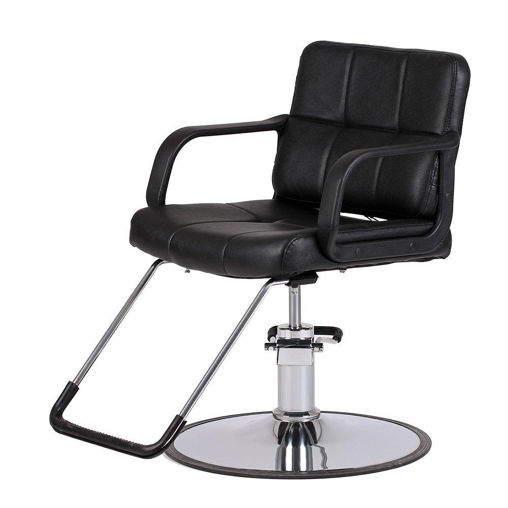 Anself Hydraulic Salon Barber Chair Hairdressing, Hair Styling Cutting Chair by Anself